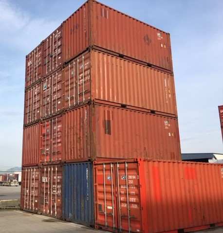 20'STD Used Shipping Container - Custom Cubes