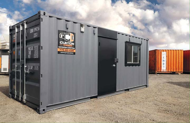 20′ Site Office - Custom Cubes