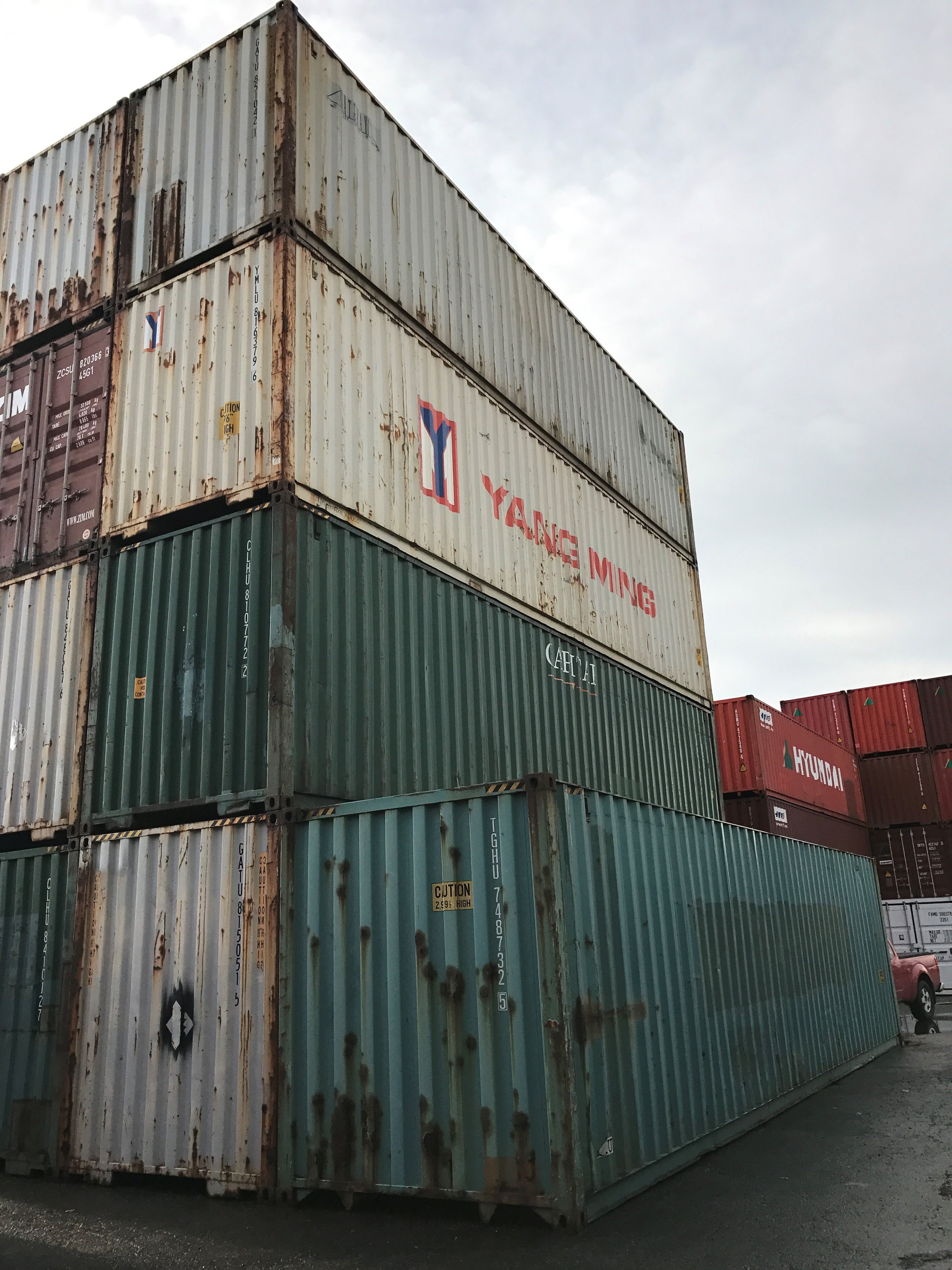 40'HC Used Shipping Container - Custom Cubes