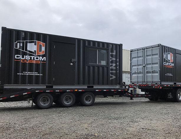Custom Event Container - Custom Cubes