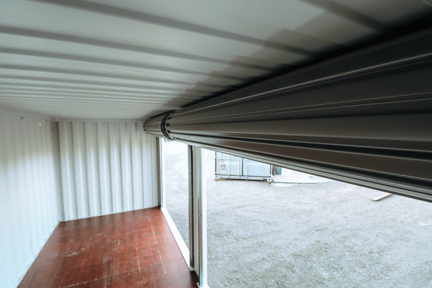 20′ Shipping Container + (2)  8′ Rollup Doors - Custom Cubes
