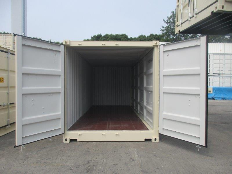 "20'STD ""Openside"" Shipping Container - Custom Cubes"