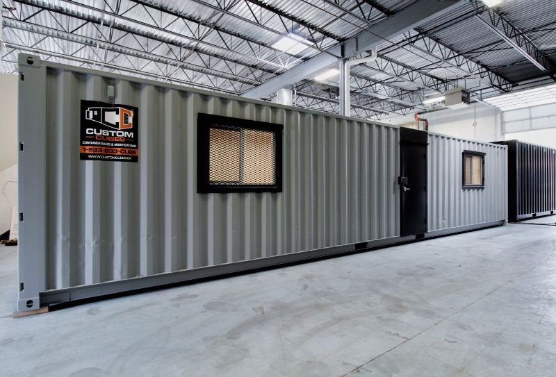 Turn a Shipping Container into Your New Office