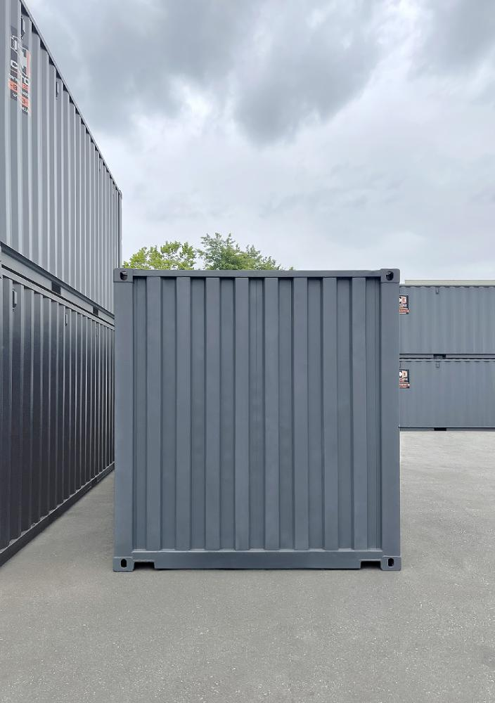 """20' Used """"Open Face"""" Shipping Container - Custom Cubes"""
